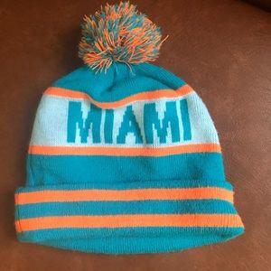 Vintage Miami Dolphins Winter Hat
